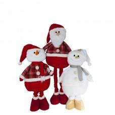 """Фигура """"Дед Мороз и Снеговик"""""""
