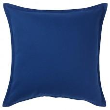 Чехол на подушку синий